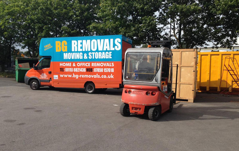 Office Removals Nottingham