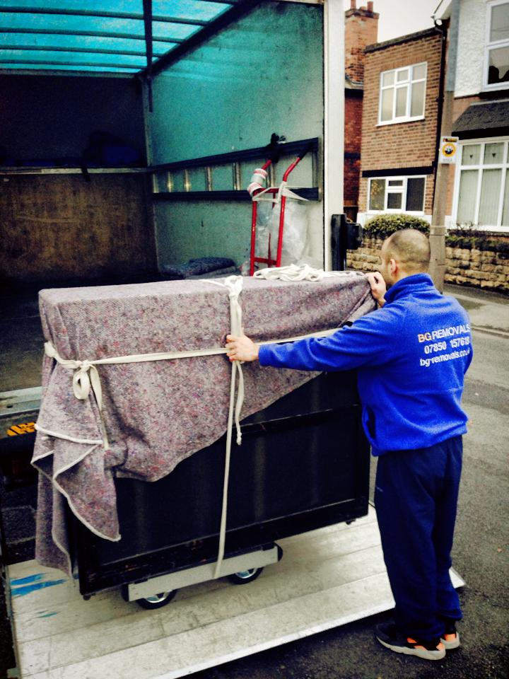 Piano Removals in Nottingham, Derby and Leicester