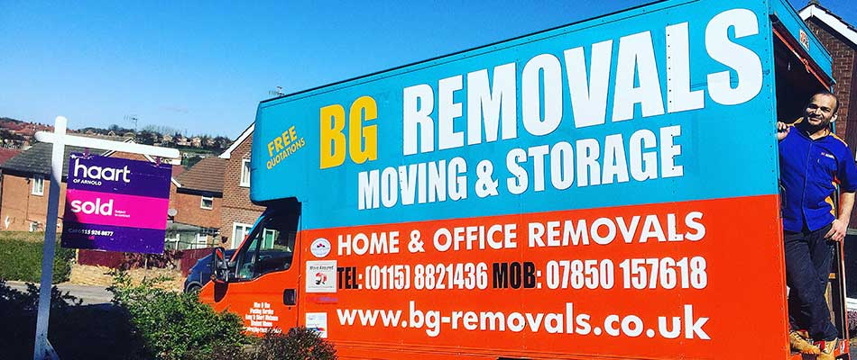 Removal Services in Nottingham