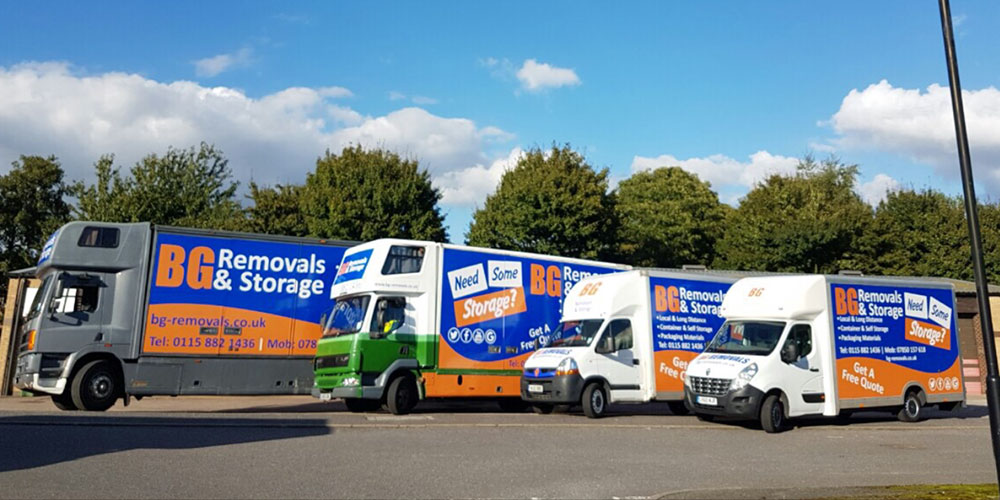 Storage Services in Nottingham, Derby and Leicester