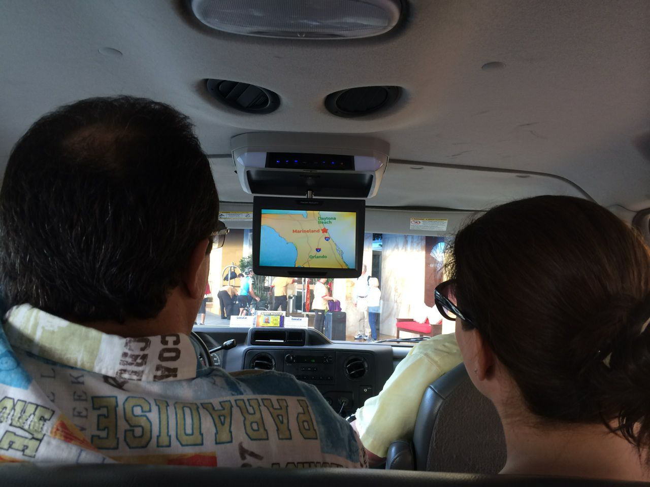 SuperShuttle shuttle CCTV advertisement
