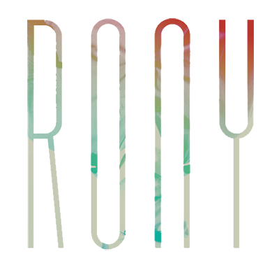 RONY logo official music indie pop soul