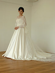 3wayのウェディングドレス