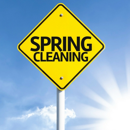Spring Cleaning Time for Our Centers