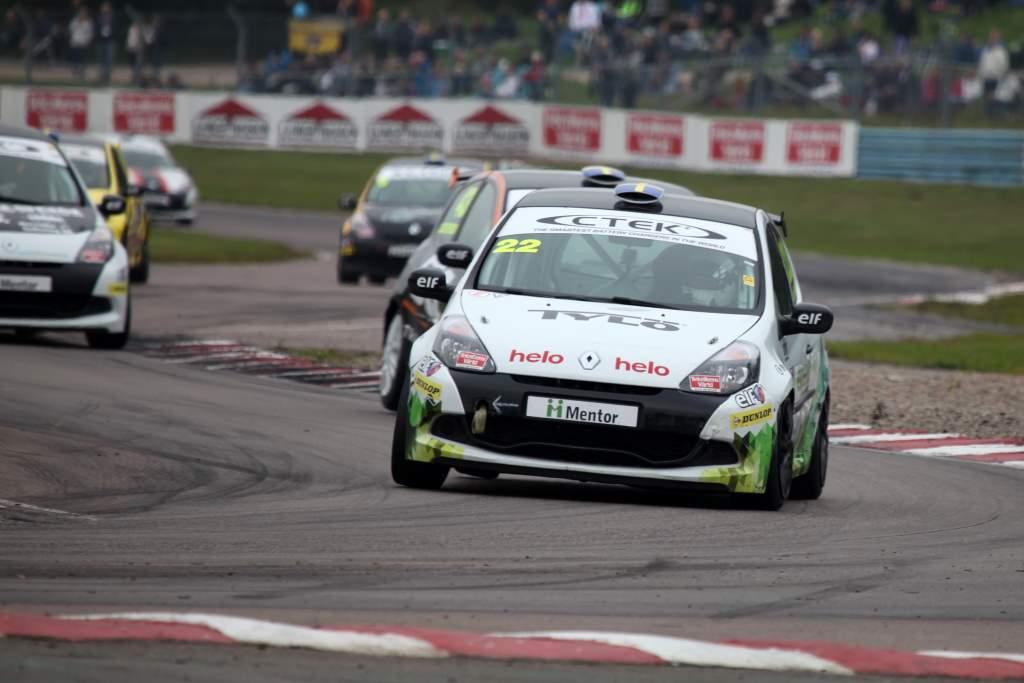 Experion Racing Teams första Clio Cup racingbil