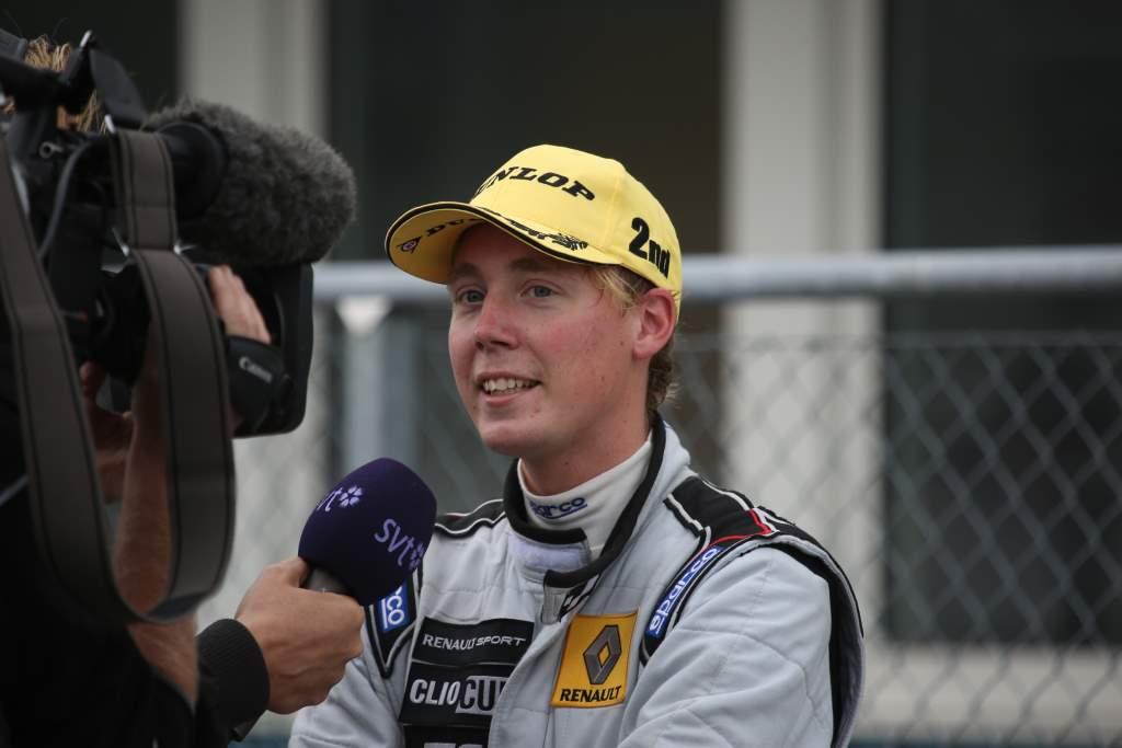 Albin i intervju med SVT