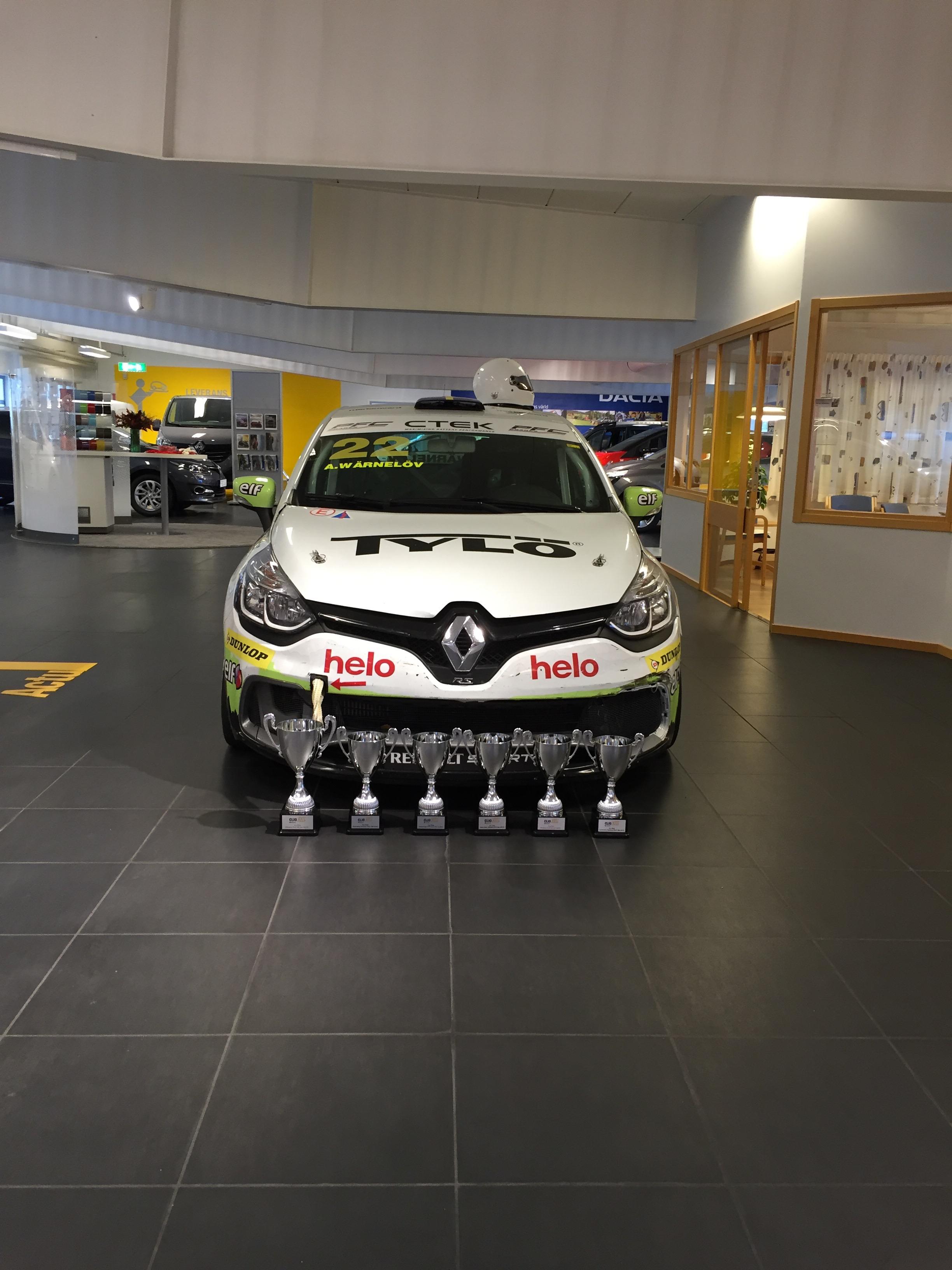 Experion Racing Teams Clio Cup i Skobes billokaler