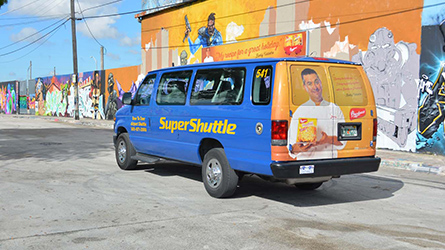 Botran Rum Shuttle Wrap Ad Campaign at Wynwood Walls