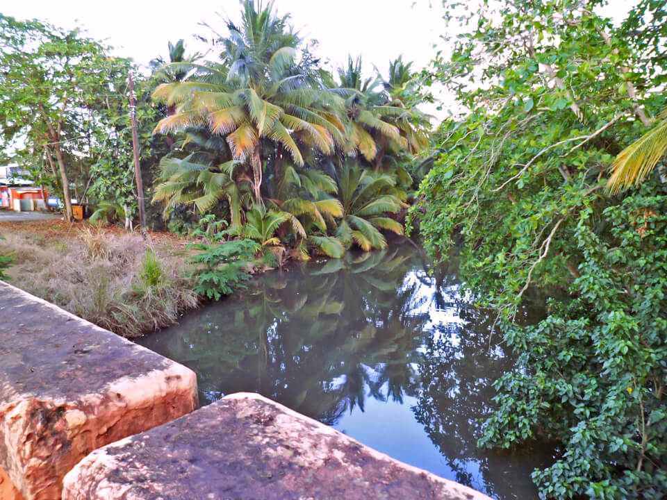 Puente sobre Laguna San José, en la Avenida Iturregui, Carolina, Puerto Rico.