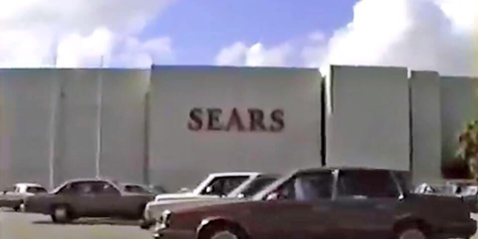 Foto vieja de Sears en Plaza Carolina en el 1991, Carolina, Puerto Rico.