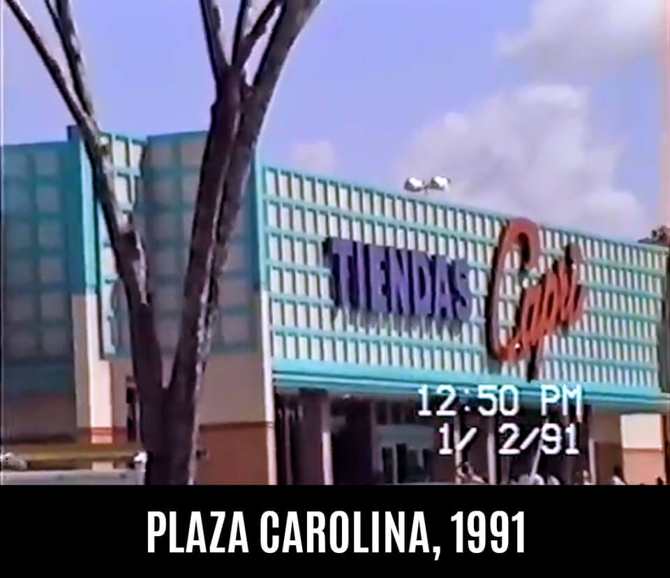 Foto vieja de Capri en Plaza Carolina en el 1991, Carolina, Puerto Rico.
