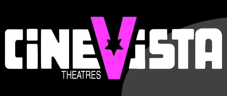 Logo de CineVista en Plaza Carolina, Carolina Puerto Rico.