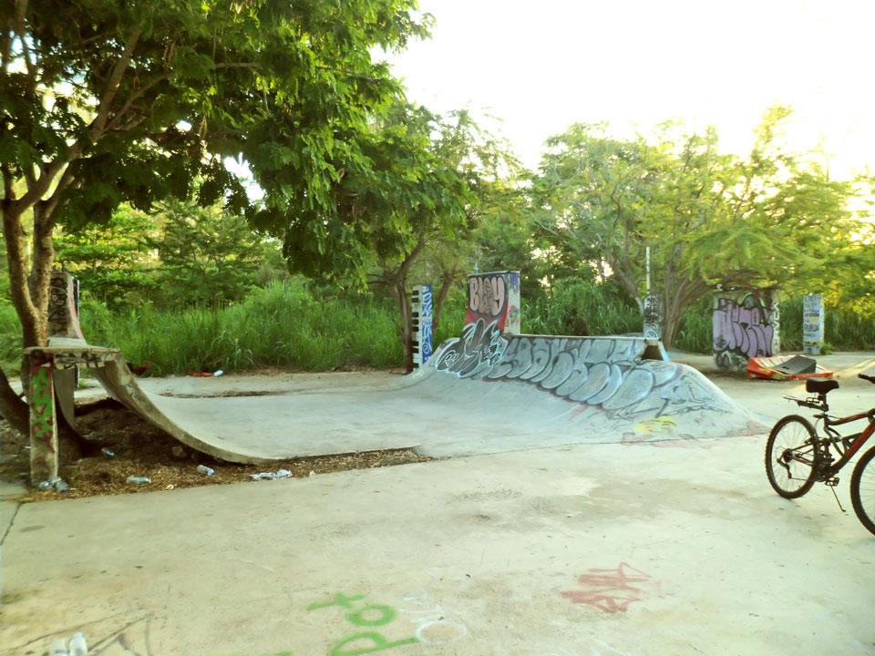Skatepark en Punta las Marías, San Juan, Puerto Rico