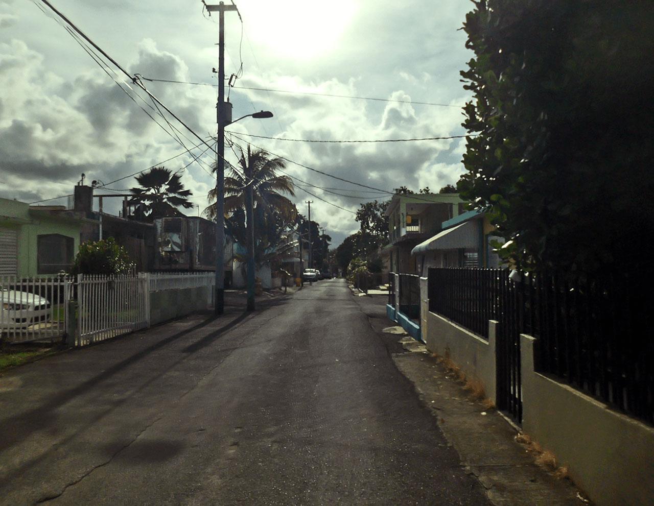 Callejón del Barrio Sabana Abajo, Carolina, Puerto Rico.