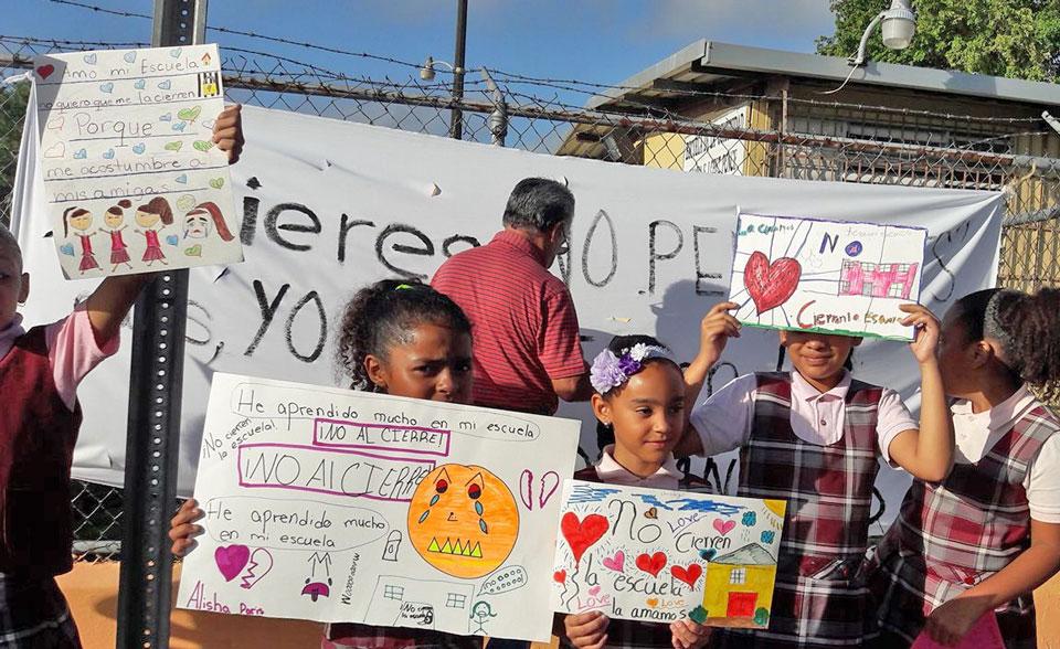 Escuela María López Ponce, Carolina, Puerto Rico.