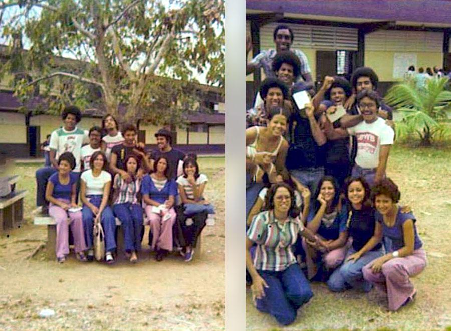 Clase del 1975 y 1978 de la Escuela Superior Dr. José M. Lázaro, Urb. Country Club, Carolina, PR.