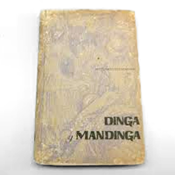 "Poesía negroide ""Dinga y Mandinga"" de Fortunato Vizcarrondo, de Carolina, Puerto Rico."