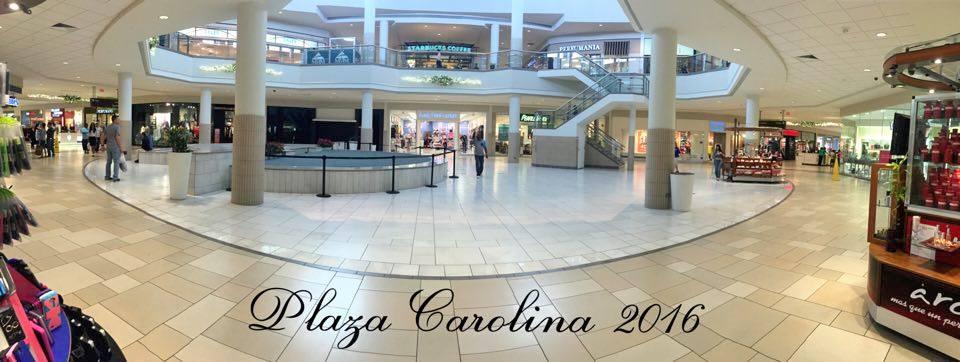 Foto del atrio central de Plaza Carolina 2016, Carolina, Puerto Rico.