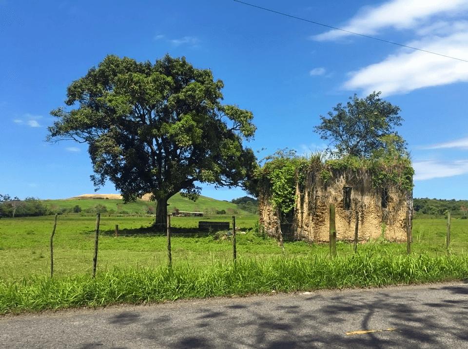 Estructura arqueológica en Carr. 874 de Carolina, Puerto Rico.