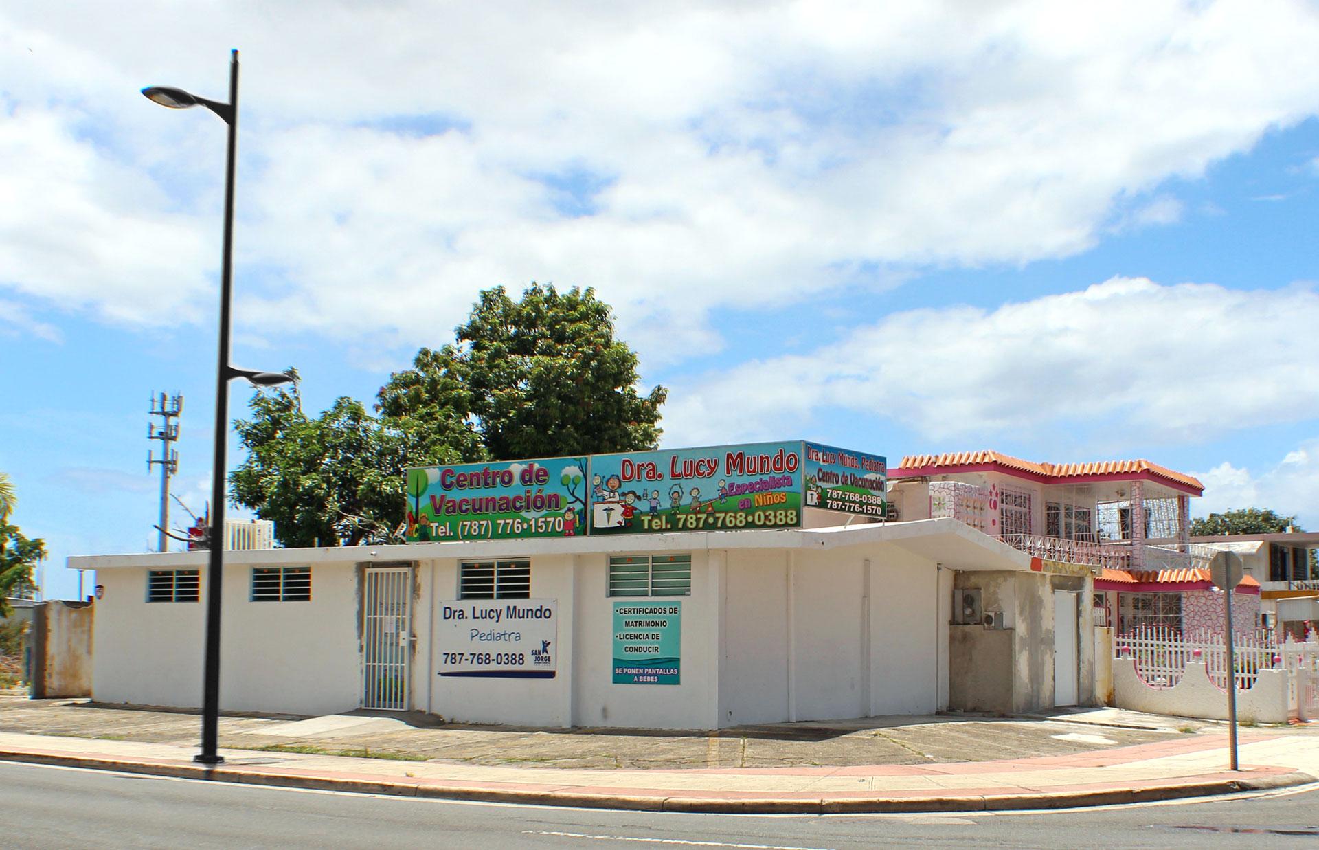 Pediatra Dra. Lucy Mundo, Carolina, Puerto Rico.