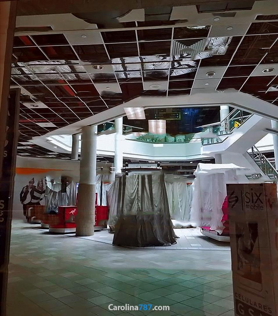 Viste desde Sears de Plaza Carolina tras el paso del Huracán María en septiembre del 2017.