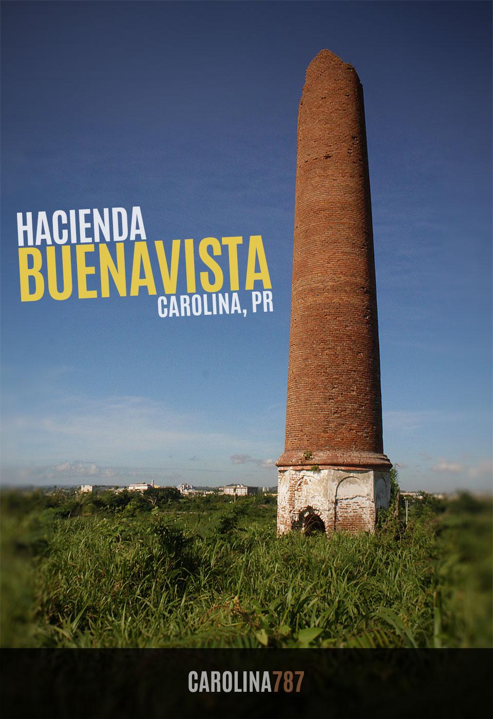 Chimenea de la antigua Hacienda Buenavista en Carolina Puerto Rico.