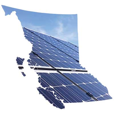 Solar energy services for Vancouver, Victoria, Kelowna and all of BC.  Full service engineering, installation, and commissioning of solar panel systems.