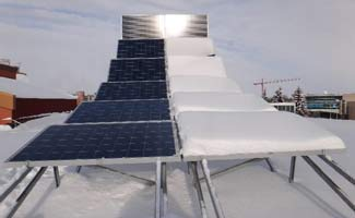 Nait Reference Solar Array in Edmonton, Alberta