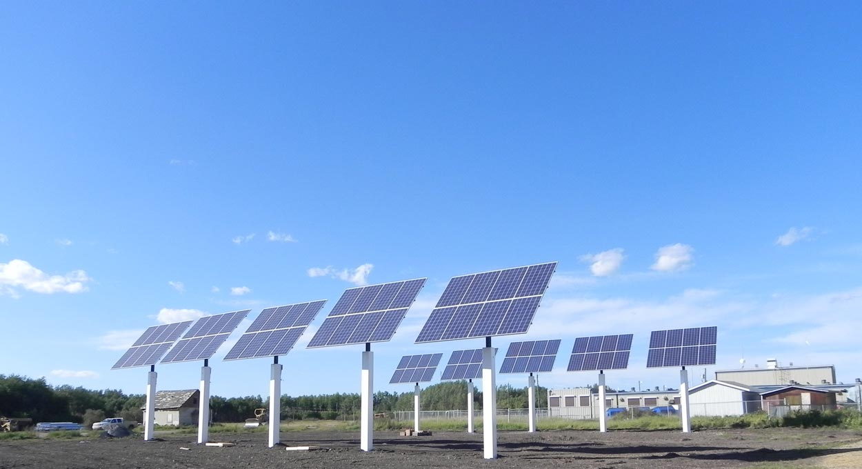 Indigenous Solar Power Installation Alberta