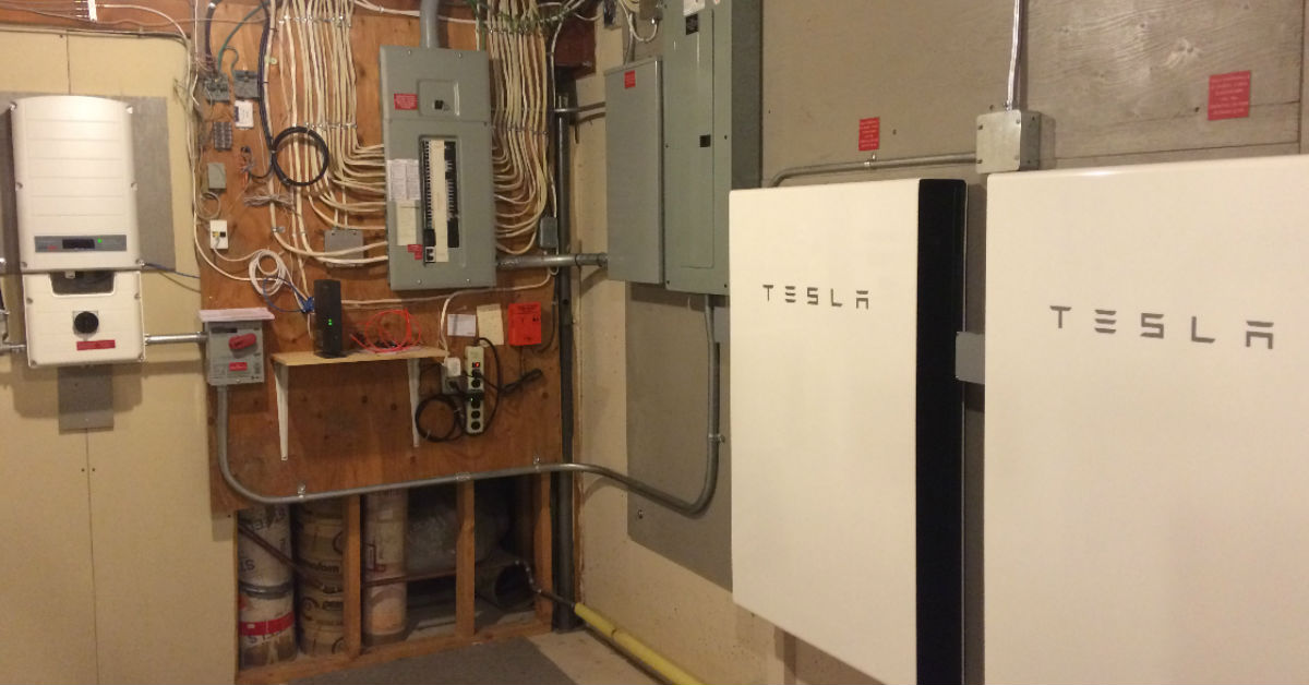 The First Tesla Powerwall2 S In Alberta Kuby Energy