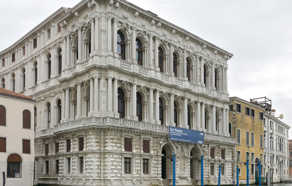 Ca Pesaro In Venice Is A Marble Palace Baroque Style With Its Facade Facing The Grand Canal Erection Of Was Started Middle