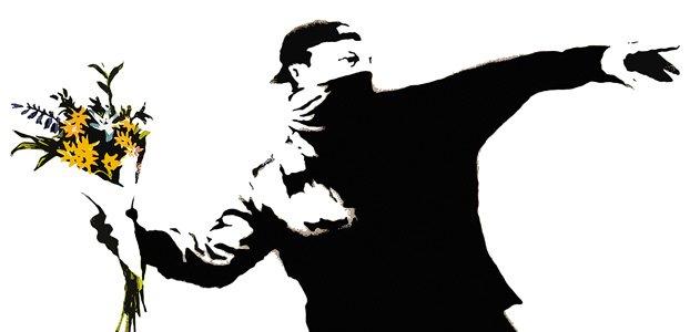 banksy-throwing-flowers-artwork