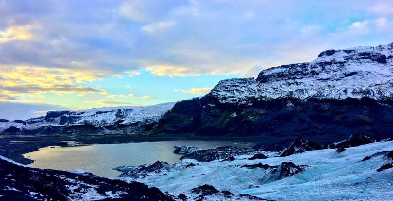 under30experiences-travel-blog-for-millennials-iceland-glacier-sunset-live-different-podcast