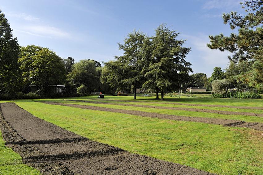 Het Seringenpark in Aalsmeer volledig op de schop
