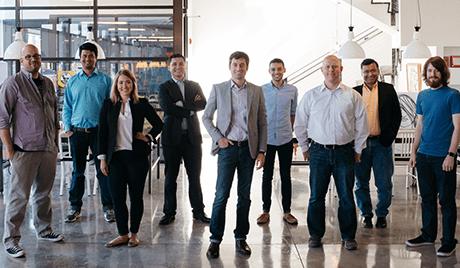 App Press team group photo