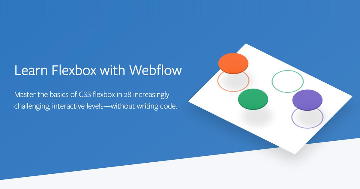Learn Flexbox with Webflow