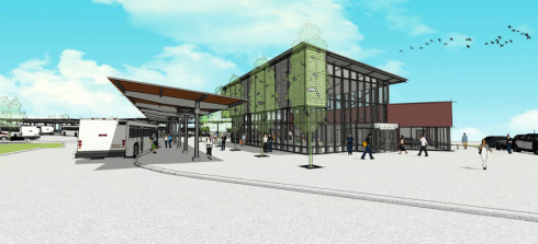New Springfield Downtown Bus Station