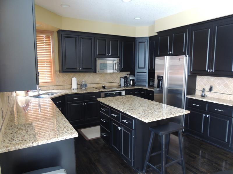 Ideas For Dark Coloured Kitchen Cabinets
