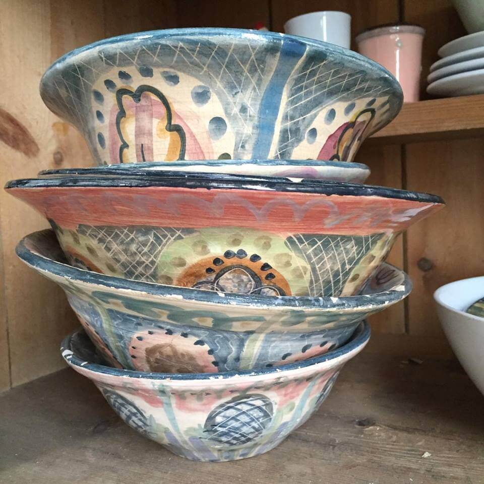 Hand crafted bowls