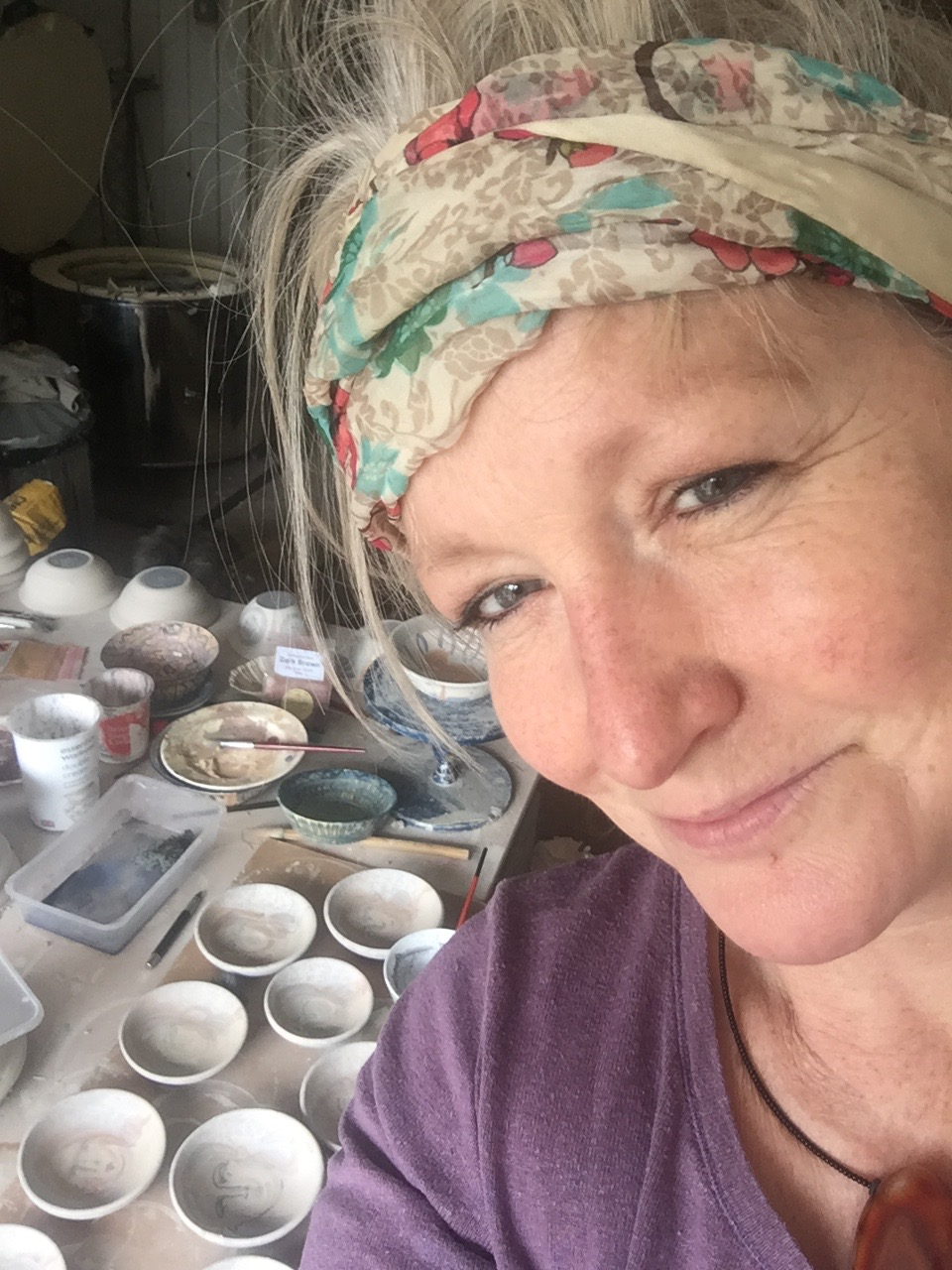 Photo of Artist Jane McCall