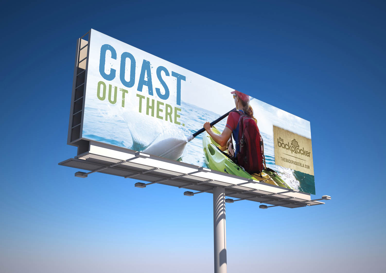 BCK: Billboard Mockup — Coast Out There