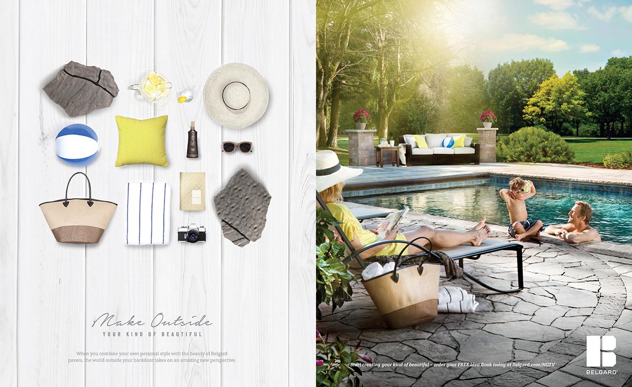 BEL: Knoll — Sit Back Print Ad