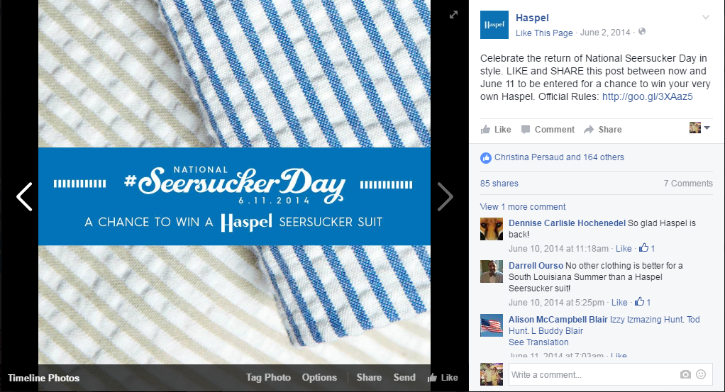 HAS: Social Media — Seersucker Day 2