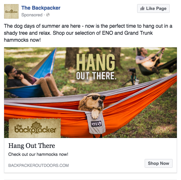 BCK: Social Post — Hang Out There