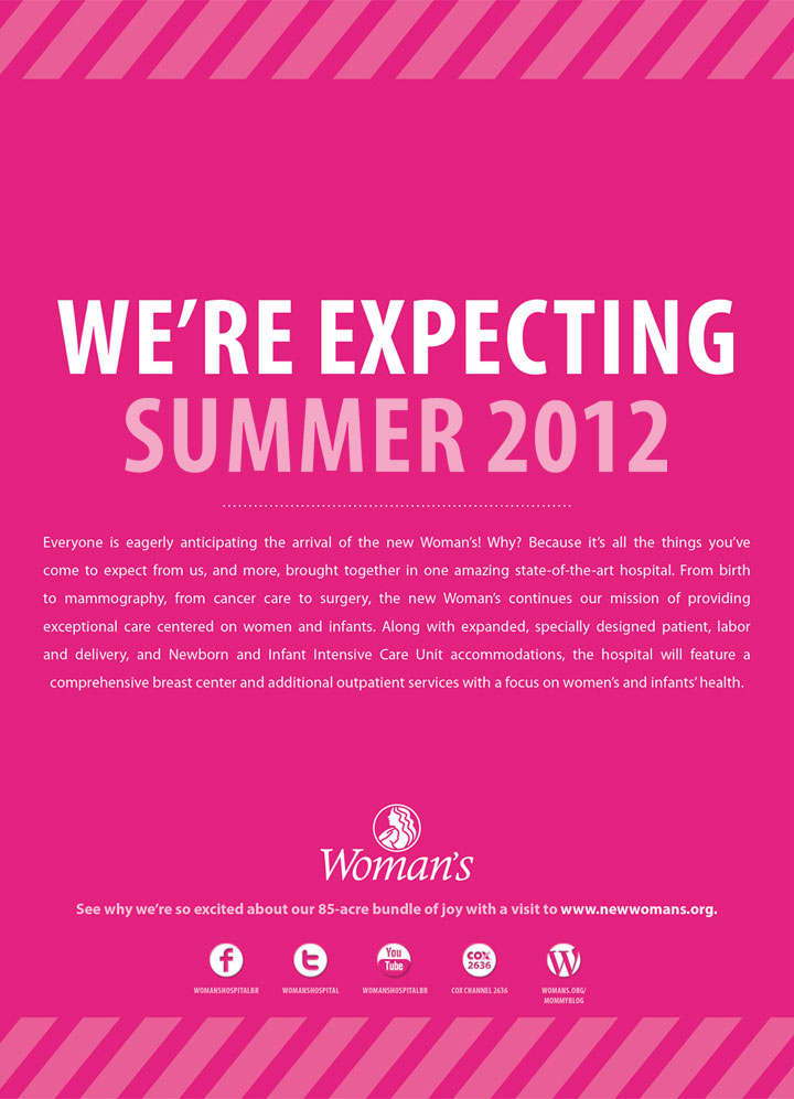 WMH: We're Expecting Print Ad