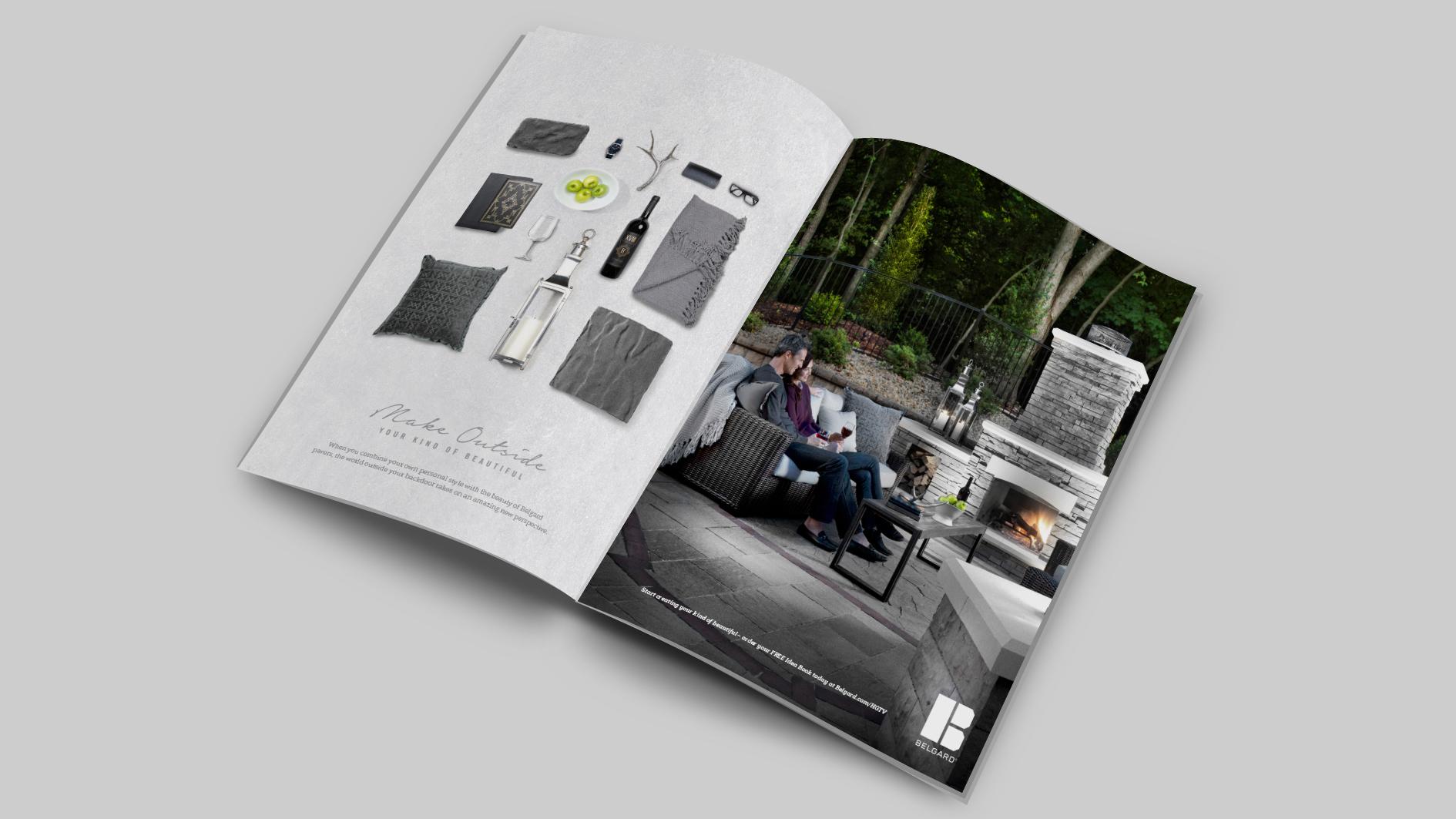 BEL: Social Sig Print Ad Mockup