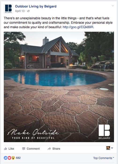 BEL: Social Post - House & Pool