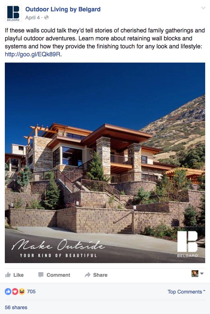 BEL: Social Post - Desert House
