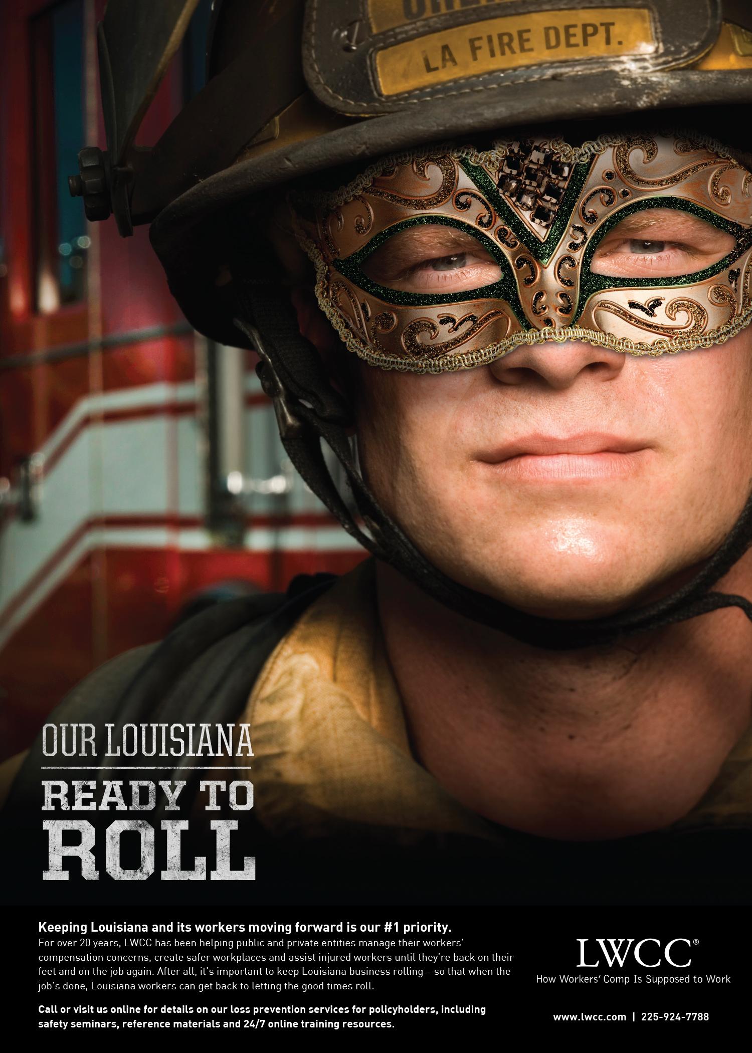 LWCC: 2014 Print Ad — Fireman