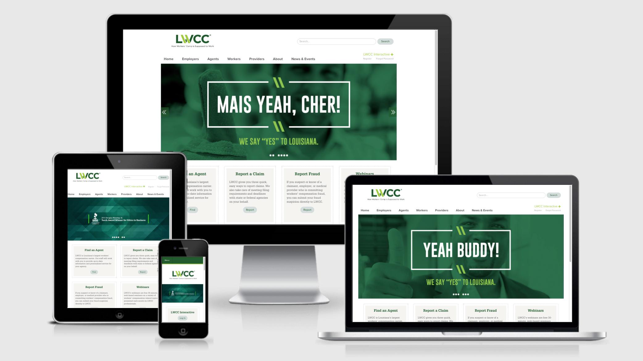 LWCC: Web Mockup